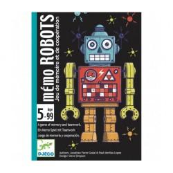 Cartas Memo Robots. DJECO