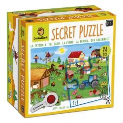 Puzzle Secret: La Granja