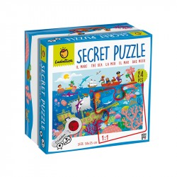 Puzzle Secret: El Mar