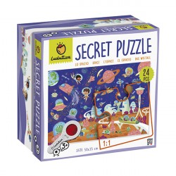 Puzzle Secret: El Espacio