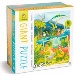 Puzzle Giant: Los Dinosaurios
