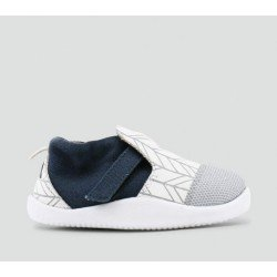 Zapato Bobux Step Up Play Xplorer City Blanco y Azul