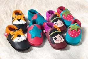 zapatos pololo cuero bebe