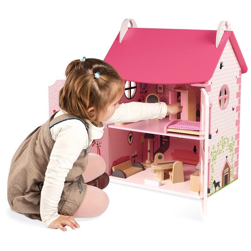 DK170005.6 Casa de muñecas de madera mademoiselle