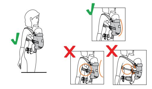 Ergobaby Adapt Posicion C