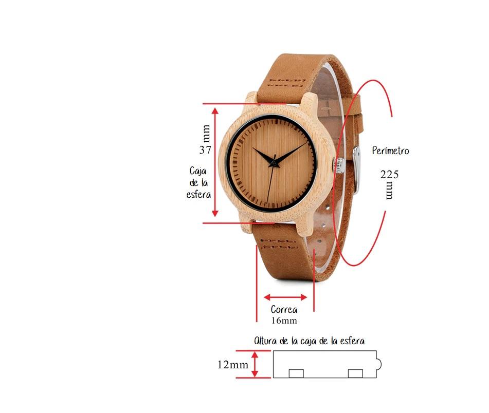 Reloj mujer madera personalizado