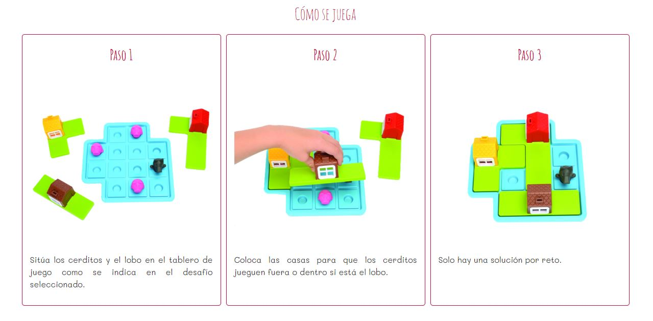 Los tres cerditos Smart Games