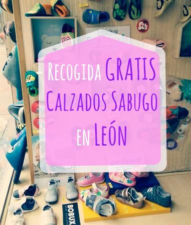 Entrega gratuita en Calzados Sabugo - León