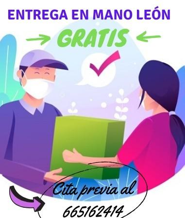Entrega en mano León centro durante Estado Alarma Covid 19 Gratis